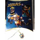 Promo Clash Royale 20 Invitaciones + Cartel + Piñata