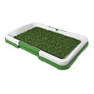 Alfombra Bandeja Sanitaria Lavable Perro Green Pet 46x33cm