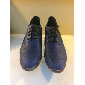 Abotinados Zapato Oxford Cuero Vacuno Croco Y Liso