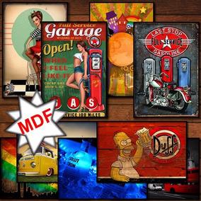 Placas Decorativas Mdf Decoração Casa Ou Comércio.