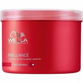 Wella Brilliance - Máscara Cabelo Normal A Fino 500ml