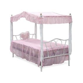Cama Niña Individual Dorsel Rosa Sin Colchon Sleepmart