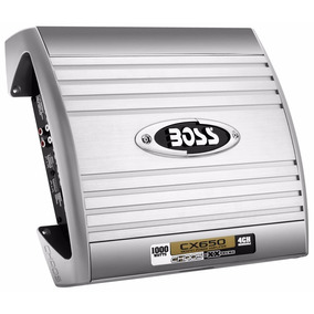 Potencia Boss Chaos Extreme Cx 650 1000 Watts 4 Canales