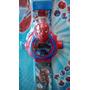 Relógio Digital Projetor De Luz Com Slide Homem Aranha Spide