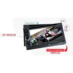 Pantalla 2 Din Caratula Desmontable Bluetooth Usb Msd Ipod