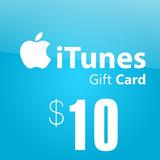 Tarjeta Regalo $10 Itunes App Store Iphone Ipad Ipod