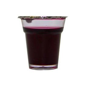 Cálice Para Santa Ceia Lacrado Com Suco De Uva