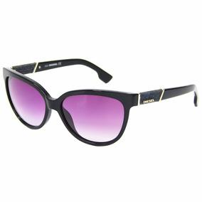 1ce7f219d5e1b Oculos De Sol Feminino - Óculos De Sol Diesel no Mercado Livre Brasil