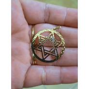 Pingente Em Ouro 18k Estrela De Davi Grande