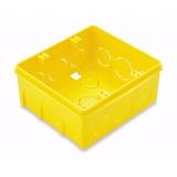 Caixinha Luz Amarela Fortlev 4x4 5 Peças