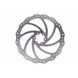 Disco Rotor Absolute 180mm Freio Mec Hidr Mtb Bike 6 Furos