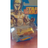 Star Wars Hotwheels C3po
