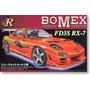 """Juguete Aoshima #80-sp Mazda Rx-7 """"bomex"""" 1/24 Le"""