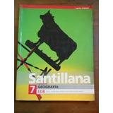 Geografìa 7 Egb Santillana Serie Claves