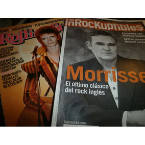 Bowie Morrissey 2 Revistas Inrockuptibles Rolling Stones