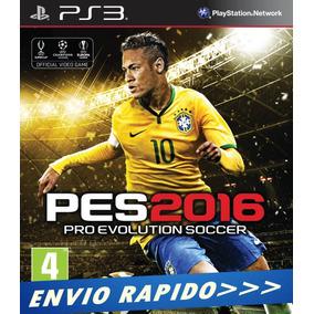 Pes 16 - Pro Evolution Soccer 2016 - Ps3 Psn Envio Rapido