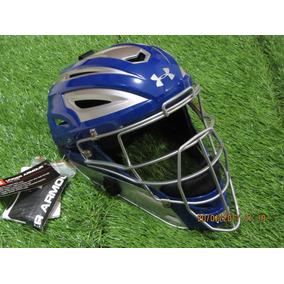 Under Armour Profesional Careta Hockey Catchers Adulto Azul
