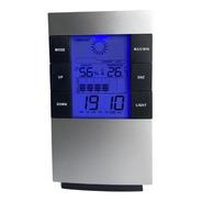 Relógio Digital Termo Higrômetro Despertador Termômetro
