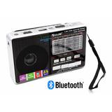 Parlante Bluetooth Linterna Recargable 9 Bandas Radio Fm Us
