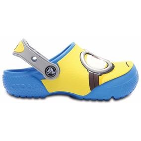 X Crocs Funlad Minions Kids Original Revenda Autorizada