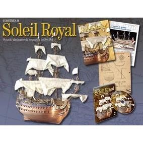 Coleção Construa Navio Soleil Royal - Editora Altaya