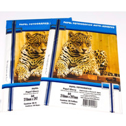 Papel Fotográfico Adesivo A4 Glossy 80g 20 Fls Masterprint
