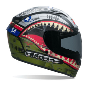 Capacete Bell Qualifier Dlx Devil May Care Verde Fosco Rs1