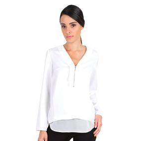 Camisa Blanca Guayabita Lara Para Damas