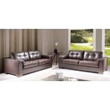 Sofa 3 Cuerpos 100% Cuero Natural