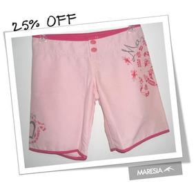 Board Short (bermuda) Maresia 1645651 Rosa Surf Wear