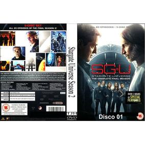 Stargate Universe -as 2 Temporadas - Com Frete Grátis