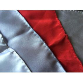 Pañuelos 100% De Seda. Lisos/ Colores: Blanco,azul,rojo,gris