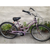 Bicicleta Vairo Mujer Crest Beach Cruiser Lady R 26
