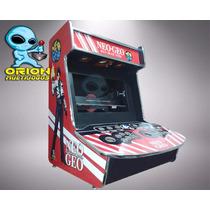 Gabinete Bartop Fliperama Arcade Mod. Evo C/caixas Acusticas