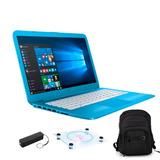 Laptop Hp Stream 14 Intel Inside 64gb 4gb Negro Sd + Regalos