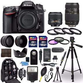 Nikon D7200 Cámara Digital + 18-55mm + 70-300mm Kit 30 Pieza