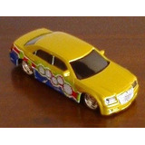 Burago Chrysler 300c Limousine Bburago Gold 1/43 2007- Loose