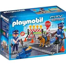 Control De Policia Playmobil Pm6924 R3492