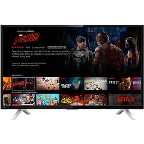 Smart Tv Led 40 Polegadas Toshiba 40l2600 Full Hd Conversor