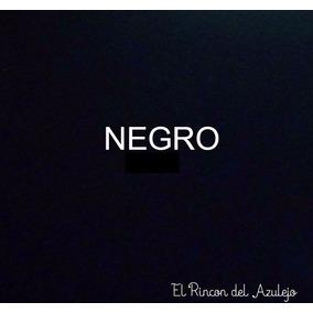 Azulejo Negro Reposición 15,2x15,2 Cm