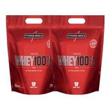 Combo 2x Whey Protein Pure 900g Integralmedica Wey Proten