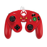 Pdp Wired Fight Pad Para Wii U - Mario