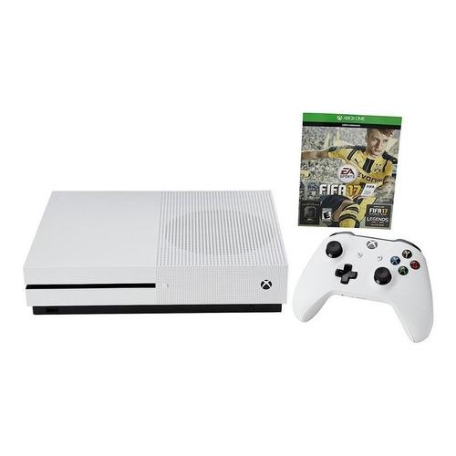 Microsoft Xbox One S 500GB FIFA 17  color blanco