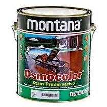 Stains Osmocolor St Castanho Uv Deck 3,6l