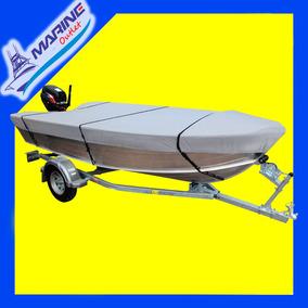 Capa De Barco De Aluminio Até 6 Mts Sol E Chuva