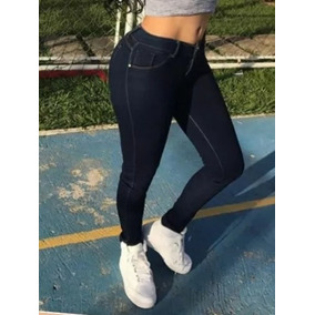 Pantalon Jean Corte Alto