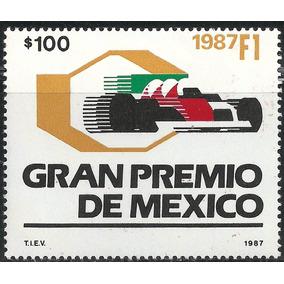 1987 Formula 1 Gran Prix Autos De Carreras Sello Mnh