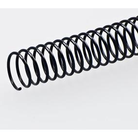 Espiral Para Encadernação 9mm Preto Até 50 Fls 100 Unid