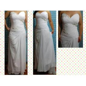 Vestido De Noiva Plus Size Tomara Que Caia/ Praia/ Boho Chic