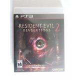 Resident Evil Revelations 2 Ps3 Nuevo Y Sellado Trqs Re